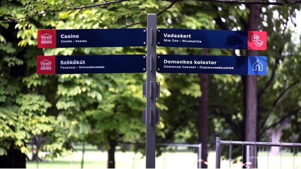 景区景观导向标识的四种类型「景观」