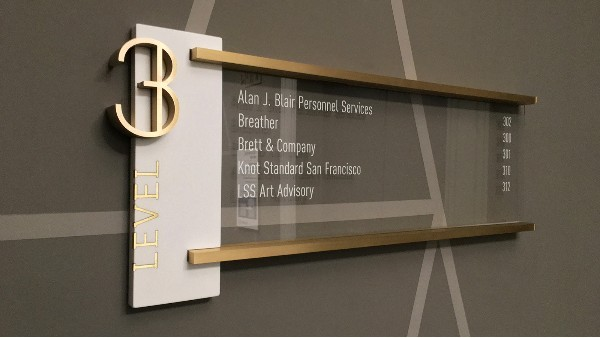 校园楼层标识设计是提供空间环境认知的信息
