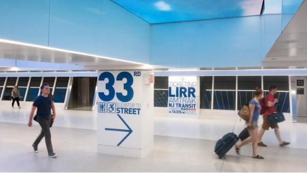 地铁站标识标牌系统设计组成结构