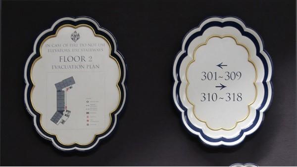 酒店导向标识设计时要遵循哪些规则
