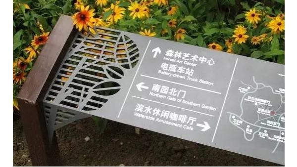 景区标识标牌制作使用的用处