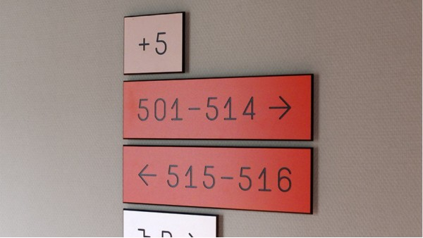 住宅标识标牌系统设计的注意事项