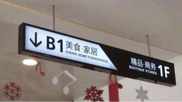 商场导向标识安装位置知识要点