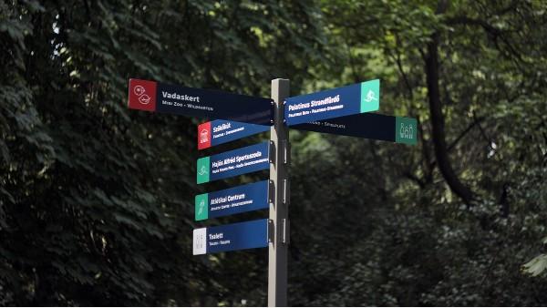 主题公园导向标识系统设计做法