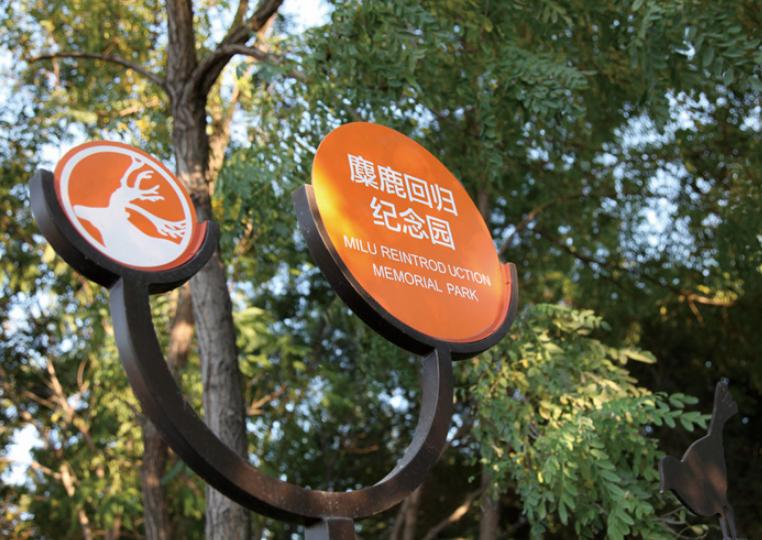 公园导向标识