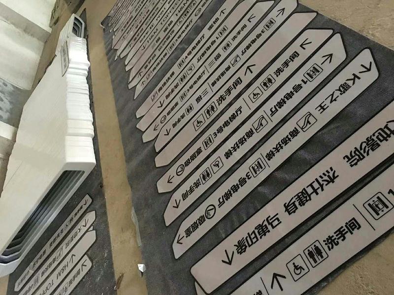 商场导向标识
