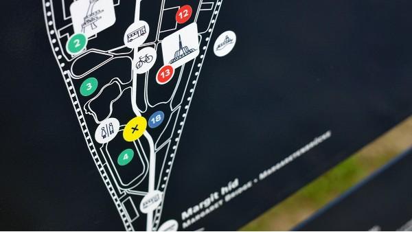 景观天下景区导向标识的造型有哪些