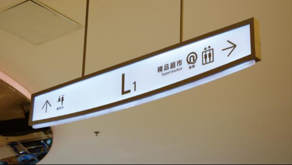 商场导向标识根据男女性的不同设计